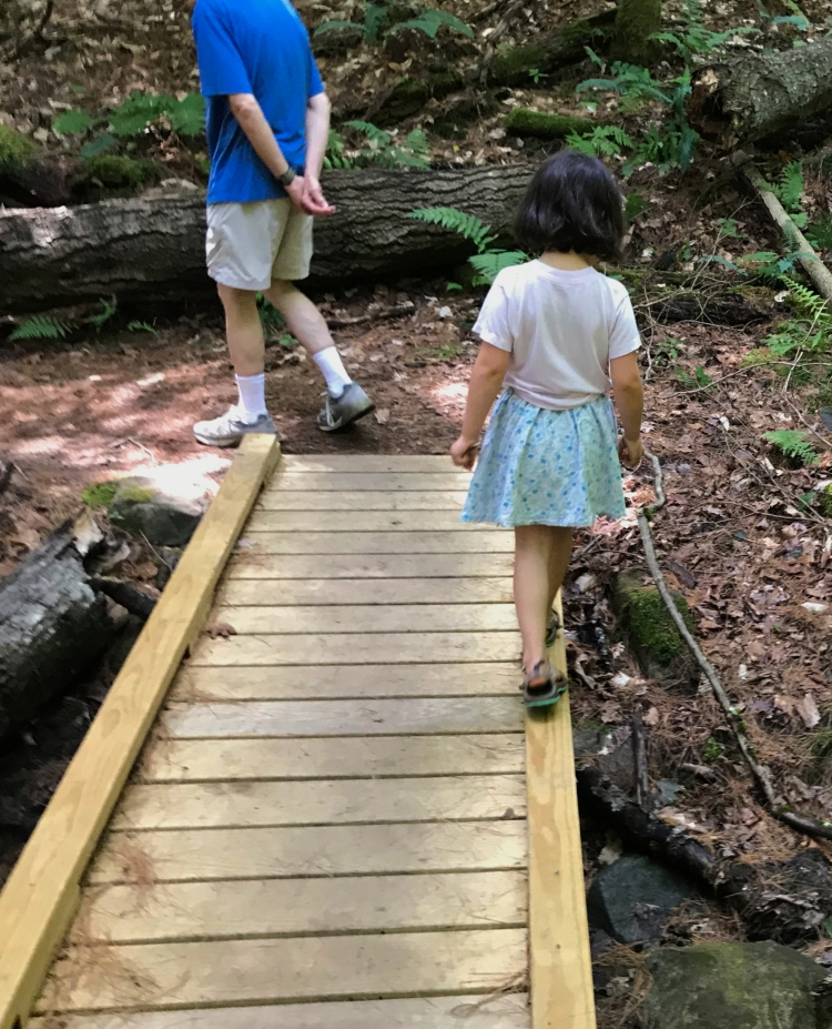 Walking the balance beam